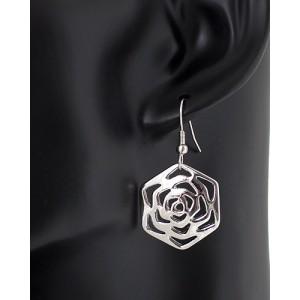 Ohrring, Ohrhänger Rose