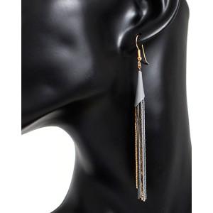 Ohrhänger Grau