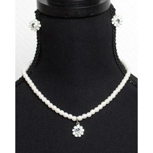 Perlen Schmuckset Kristall