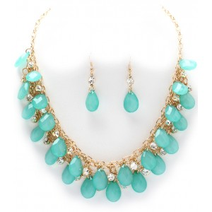Schmuckset Collier Mint