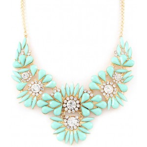 Statement Kette mint