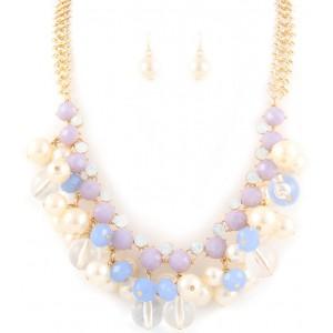 Halskette Perlenmix
